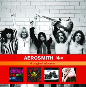 AEROSMITH 2010 x4CD 4 Original Albums boxset NEW / SEALED Pump Get A Grip