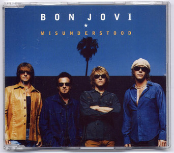 "BON JOVI - Misunderstood (5"" CD SINGLE)"