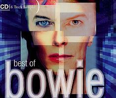 "DAVID BOWIE - Best Of Bowie Sampler (5"" CD SINGLE)"
