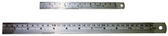 "6426 - 12"" DOUBLE SIDED STAINLESS STEEL RULER"