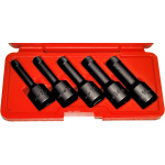 "8914 - 5Pc. 1/2"" Dr. Impact Wedge-Proof Extrator Set"