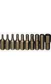 "91110 -  10 PC 1/4"" HEX INSERT BIT SET"