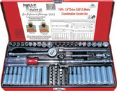 "92774 - 74 Pc. 1/4"" Drive SAE & Metric Socket Set"