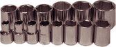 "14 Piece 1/2"" Drive 6 Point Standard SAE Sockets - 94214"