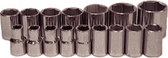 "94216 - 6 Piece 1/2"" Drive 6 Point Standard Metric Sockets"