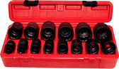 "14 PC 1/2"" DR SAE IMPACT SOCKET SET - 97415"