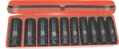 "10 PC1/2"" DRI METRIC DEEP IMPACT SOCKET SET - 98410L"
