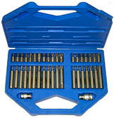 CL102 - 40Pc. In-Hex / Multi-Spline / Torx / Insert Bit Set