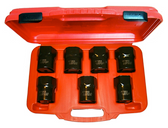 "J1960 - 7Pc. 1/2"" Dr. Wheel Bearing Locknut Socket Set"
