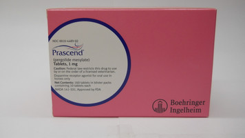 Prascend Tablets (Pergolide)
