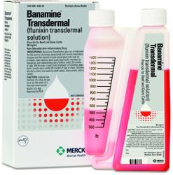 Transdermal Banamine (Flunixin Transdermal Solution) 100ml