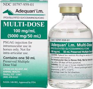 Adequan IM Equine MULTI-DOSE Vial (50ml)