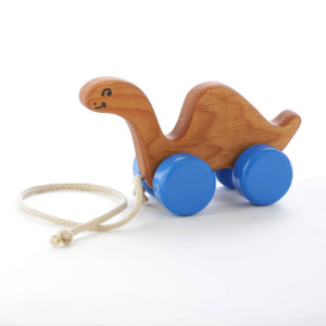 Wooden Dinosaur Pull Toy