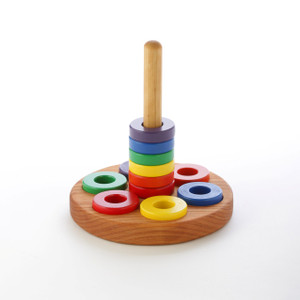 Wooden Ring Stacker