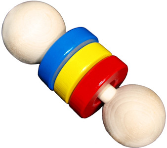 Wooden Ring Shaker Baby Rattle
