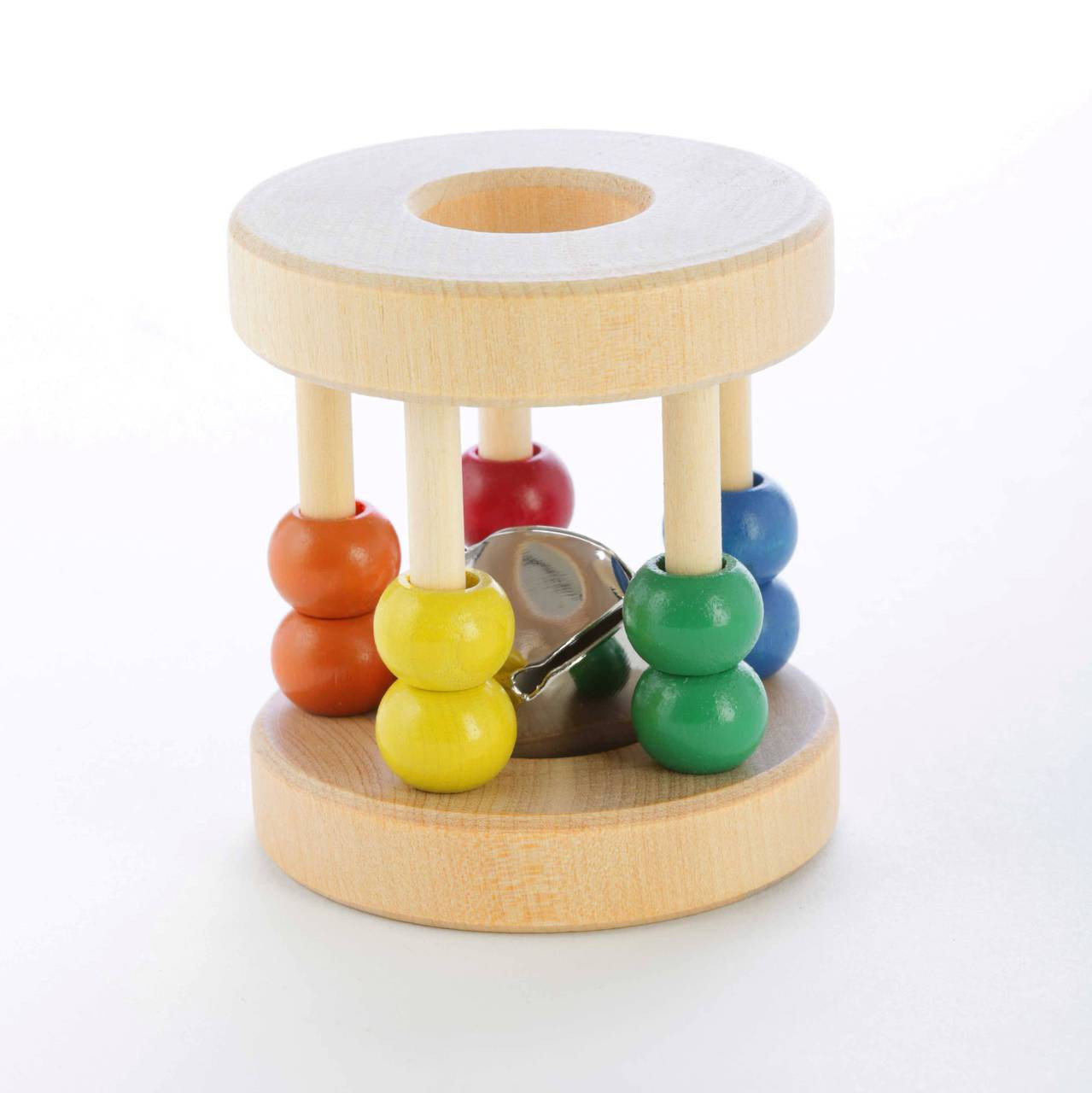 Wooden Toys For Babies Roller Baby Rattle Papa Dons Toys