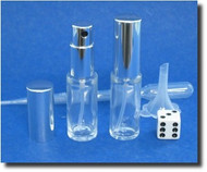 Atomizer - Glass Cylinder - 1/3oz (9.5mL)