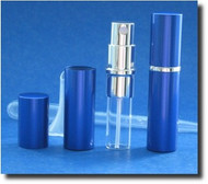 Blue Metal Atomizer - 1/6 oz / 5mL