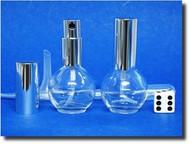 Atomizers Glass Perfume Ball Round - 1/2oz (15mL)