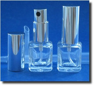 Bottle Atomizer - Cube - .25oz / 1/4oz (8mL)