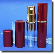 Red Metal Atomizer - 1/3oz / 10mL