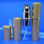 Gold Metal Atomizer - 1/6 oz / 5ml