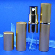 Gold Metal Atomizer - 1/3oz / 10ml