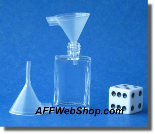 Small Plastic Funnel - Diameter 20 millimeter - for filling small bottles