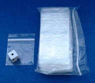 (500) Plastic Zip-Lock Bags - 2X2 Inch