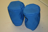 Winch Covers 2 Medium Pacific Blue Polyester Thread
