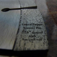 Economy. Sintered. Segmented. For angle grinders and skil saws.