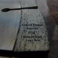Supreme. Laser weld. Segmented.