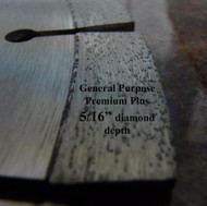 Ultra Supreme Plus. Laser weld. For hand held saws and brick/block saws