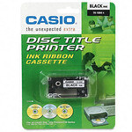 CASIO TR-18BK  Black Ribbon Tape for CW-50/75/100/L300, 1-Pack