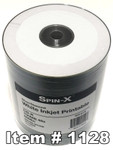 Spin-X CD-R 80 White Inkjet Printable  / Diamond, 100-Pack