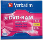 Verbatim DVD-RAM 9.4GB Double Sided 3X Type 4 Cartridge ( 95003 )