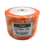 Titan CD-R 80 Branded 52X, 100-Pack