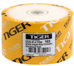 Tiger DVD-R 4.7 GB 16X White Inkjet Hub Printable, 100-Pack