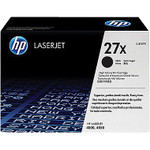 HP 27X Black Toner Cartridge (C4127X), High Yield