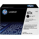 HP 61X Black Toner Cartridge (C8061X), High Yield