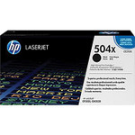 HP 504X Black Toner Cartridge (CE250X), High Yield