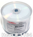 CMC Pro (TY) WaterShield CD-R Glossy Silver Inkjet Printable, 50-Pack