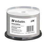 Verbatim DVD+R DL 8.5GB 8X White Thermal Hub Printable,  50-Pack