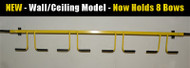 Model #8WLL - Eight Wall/Ceiling Combo Hanger