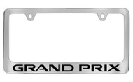 Pontiac Grand Prix Block Letters License Plate Frame
