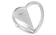 Mustang Heart / Oval Interchangeable Shape Keychain