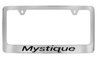 Mercury Mystique Chrome Plated Solid Brass License Plate Frame