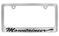 Mercury Mountaineer Script License Plate Frame