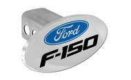 Ford F-150 with Logo Oval Trailer Hitch Cover Plug