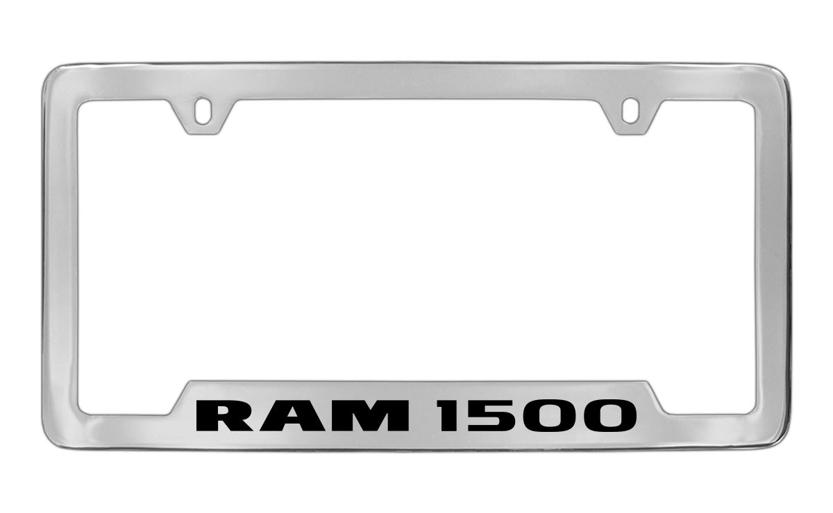 Ram 1500 Bottom Engraved Chrome Plated Solid Brass License